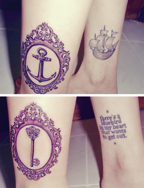 Key and Anchor