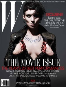 Rooney-Mara-W-Magazine-2月 -  2011封面