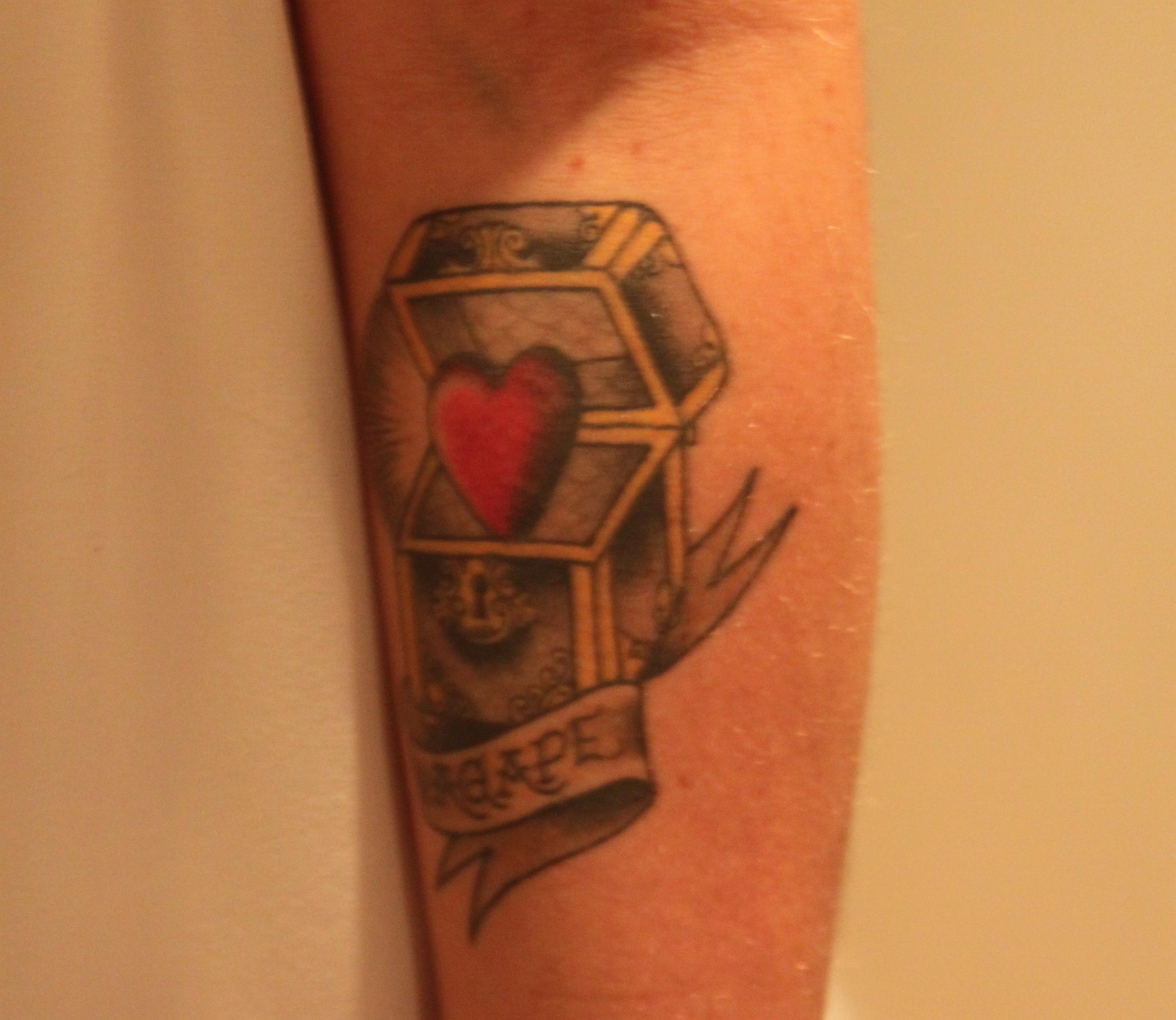 Treasure Chest Tattoo: Tattoo Inspiration