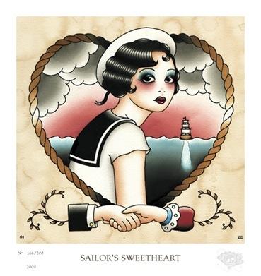 Angelique Houtkamp - Sailor's sweetheart
