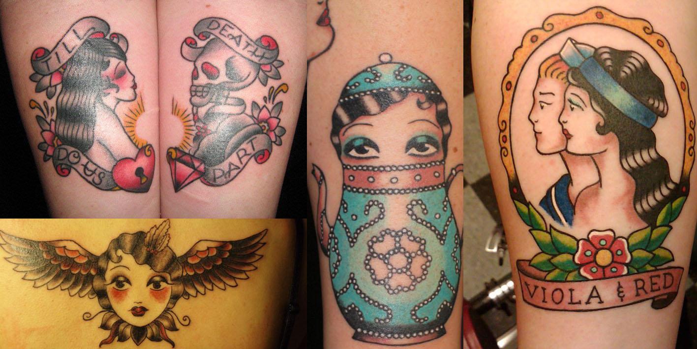 安吉丽克(Angelique Houtkamp)纹身