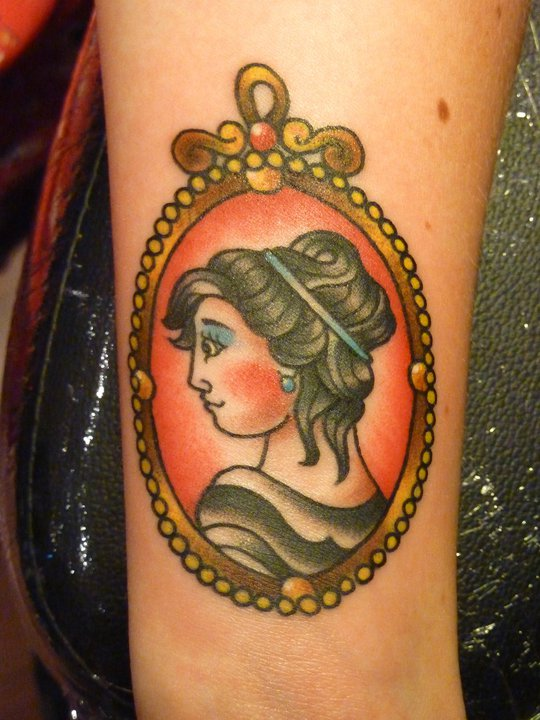 My cameo tattoo, by Andrea Furci | The official blog for ...