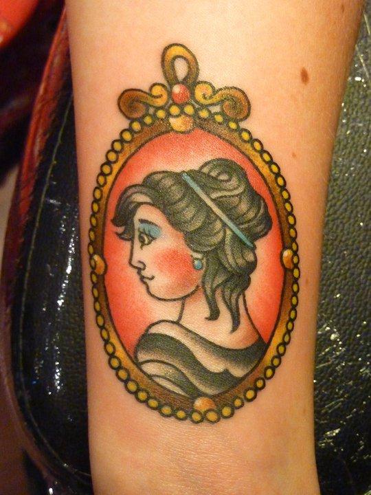 Andrea Furci cameo tattoo