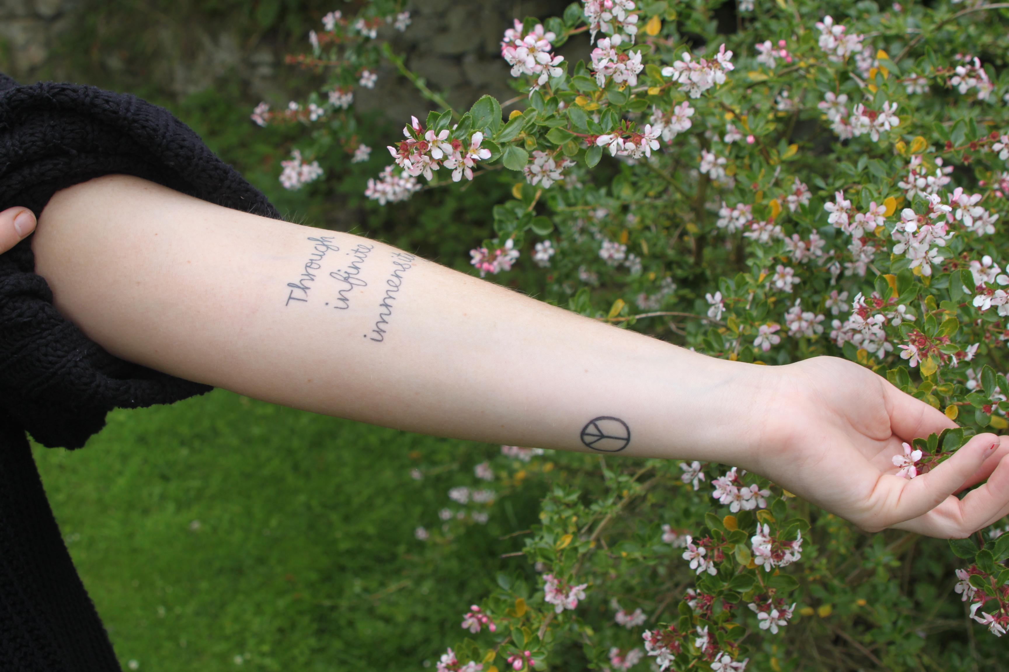 奥利维亚纹身