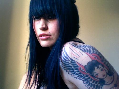 """安吉丽克·霍坎普(Angelique Houtkamp)'Madeleine""""简·拉弗(Jane Laver)-教堂纹身,澳大利亚墨尔本"""