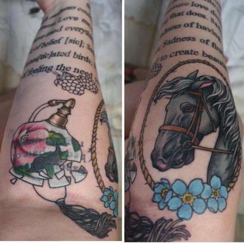 一切都照亮了纹身