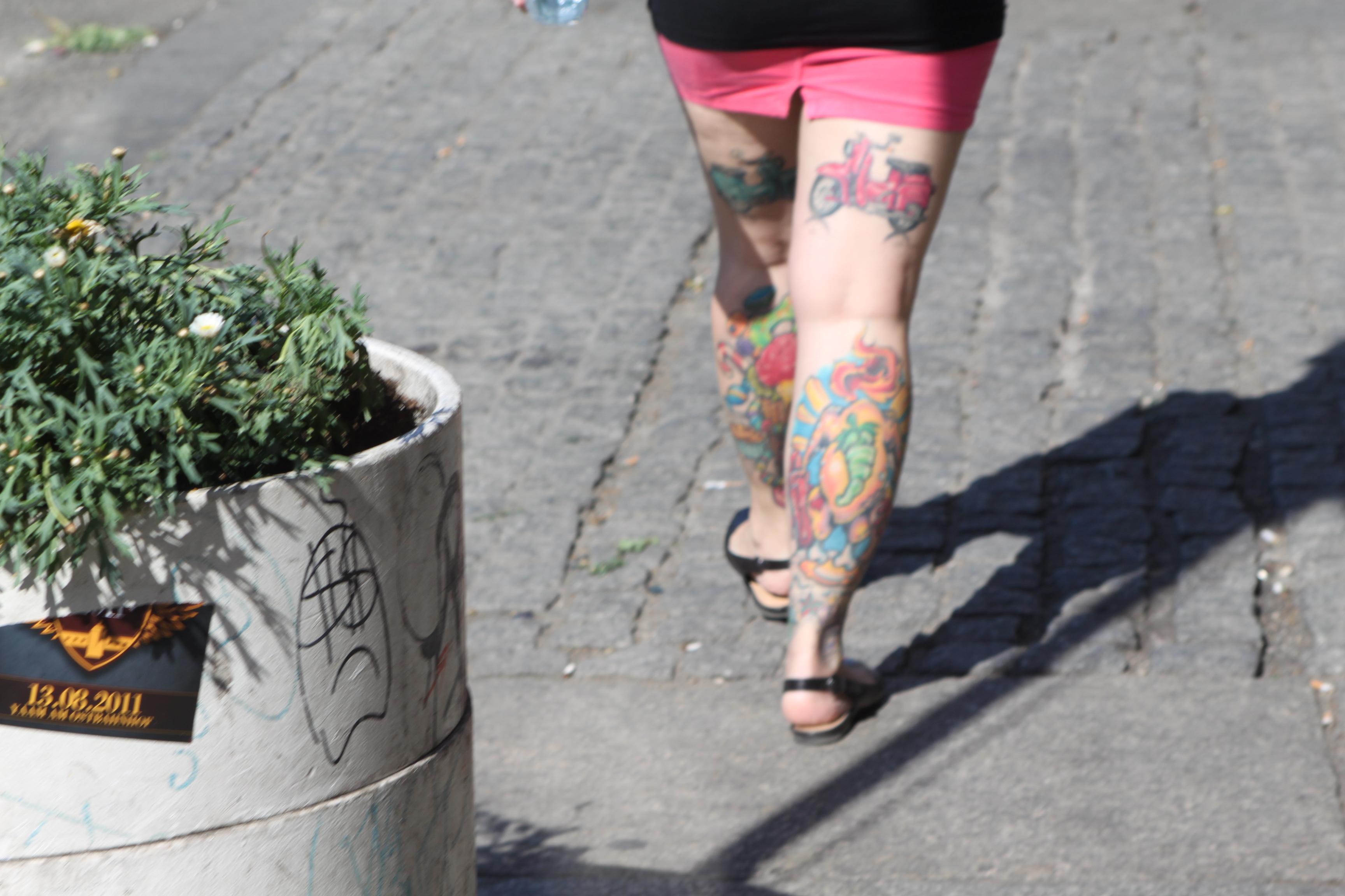 柏林的纹身