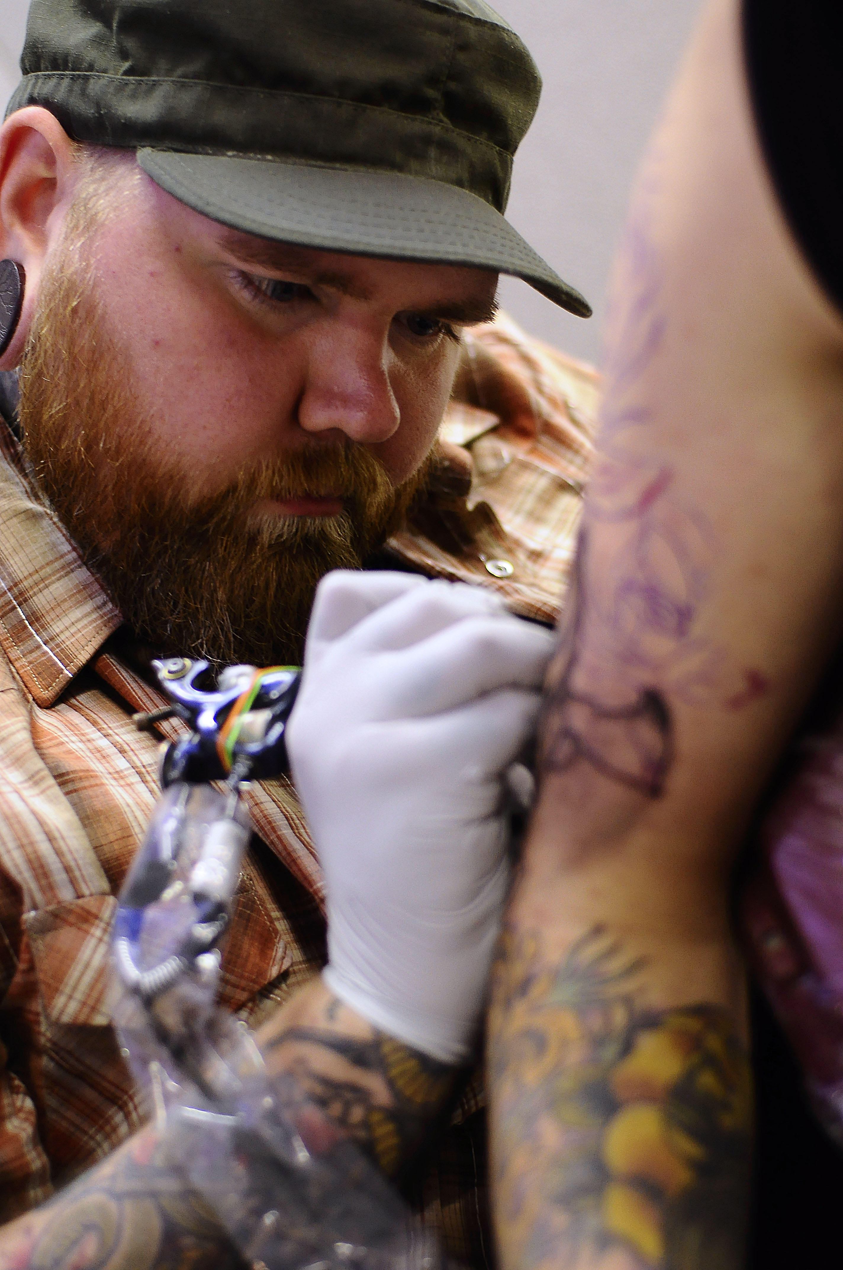 Tattooing at convention