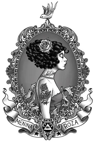 Menina Roza Rudy Faber