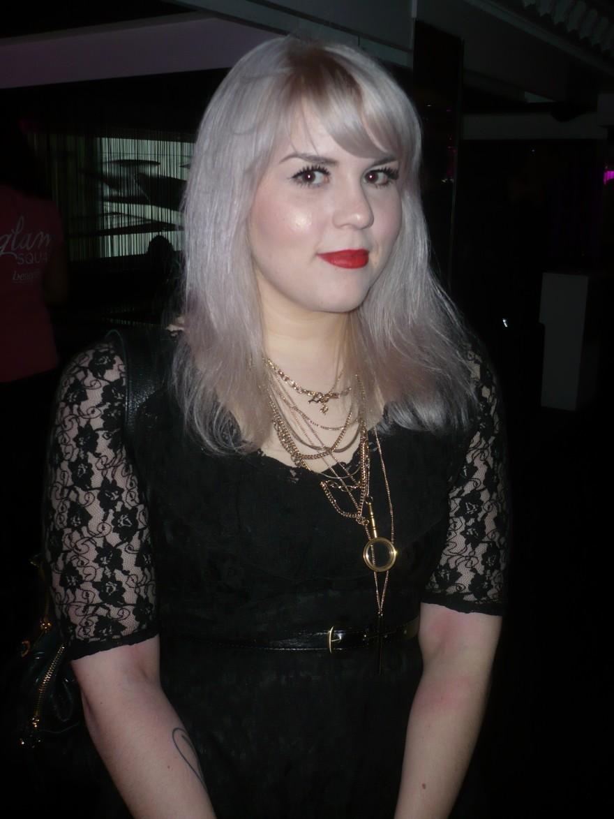 Caroline from Sparkly Vodka