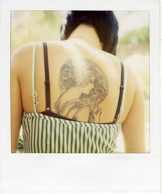 Art deco tattoo